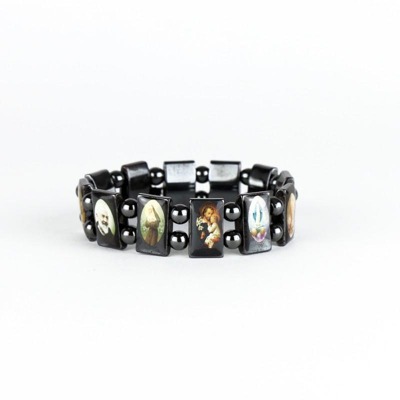 Bracelet des saints en hématite