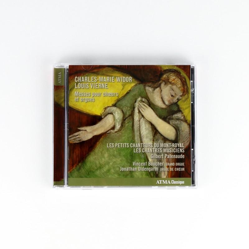 Messes pour choeurs et orgues, Charles-Marie Widor & Louis Vierne (CD)