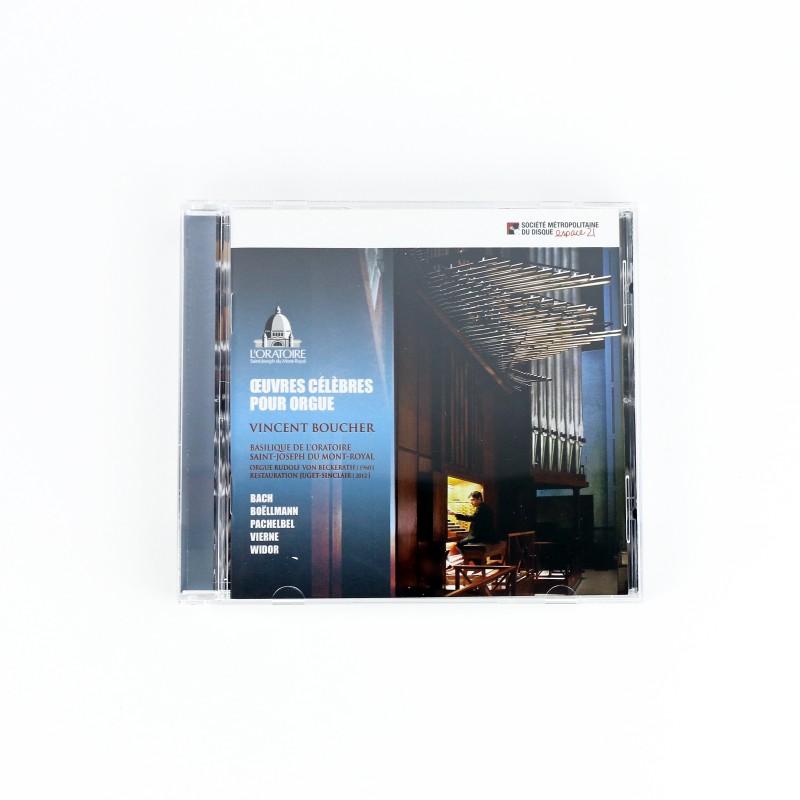 Organ works : Oeuvres célèbres pour orgue (CD)