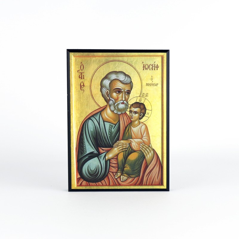 Icon of Saint Joseph and the Infant Christ