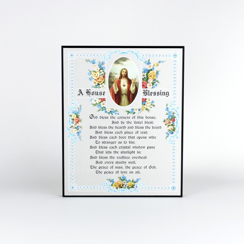 House Blessing Plaque ( Laminated )