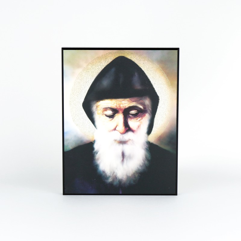 Plaque of Saint Charbel