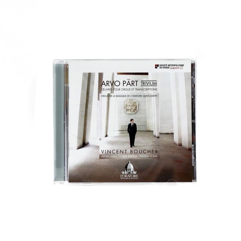 Arvo Pärt (Trivium) Oeuvres pour orgue et transcriptions, Vincent Boucher (CD)