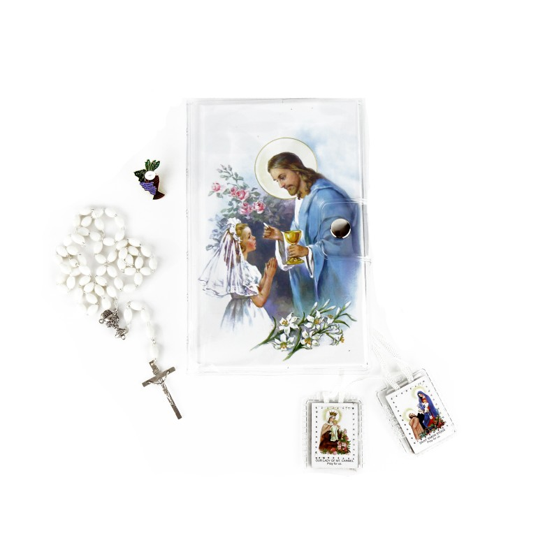 First Communion set for girl