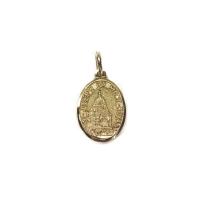 Image Médaille ovale de saint Joseph, or 10k