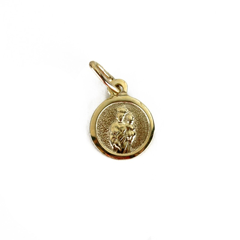 Medal of Saint Joseph, 10K gold