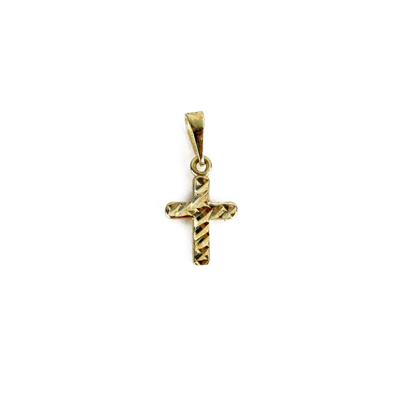 Gold Small Cross, 10 k