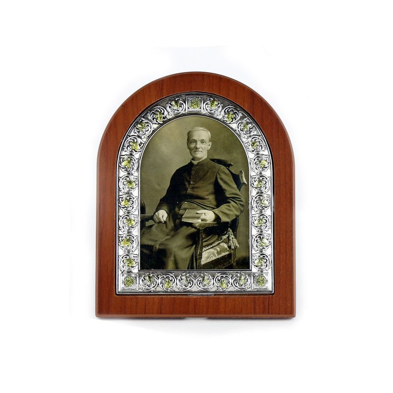 Photo frame of Saint Brother André