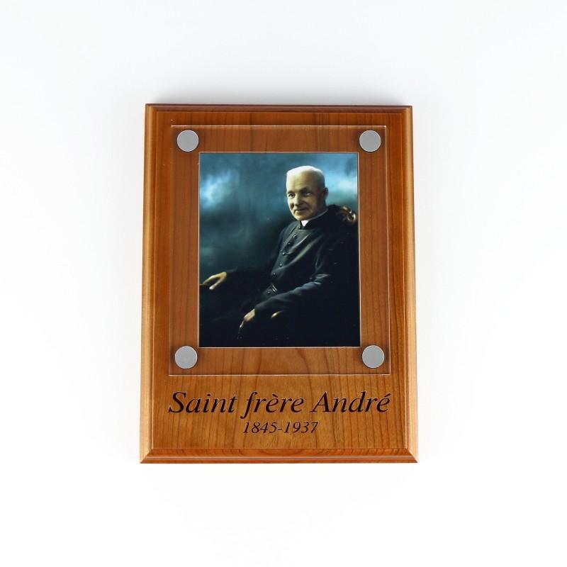 Plaque de saint frère André