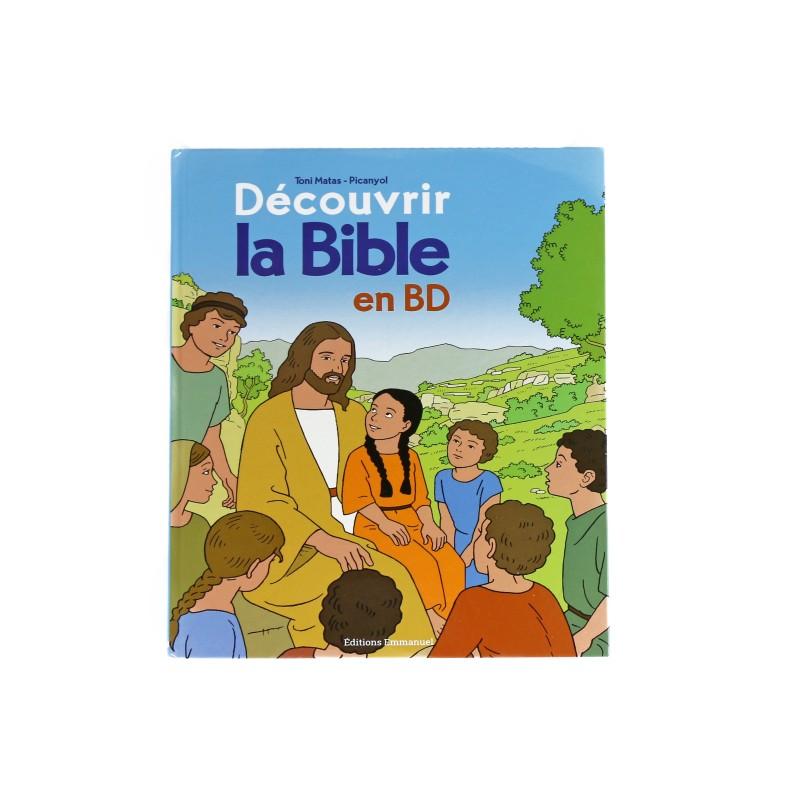 Bible in Comic Book : Découvrir la Bible en BD Ancien et Nouveau Testament