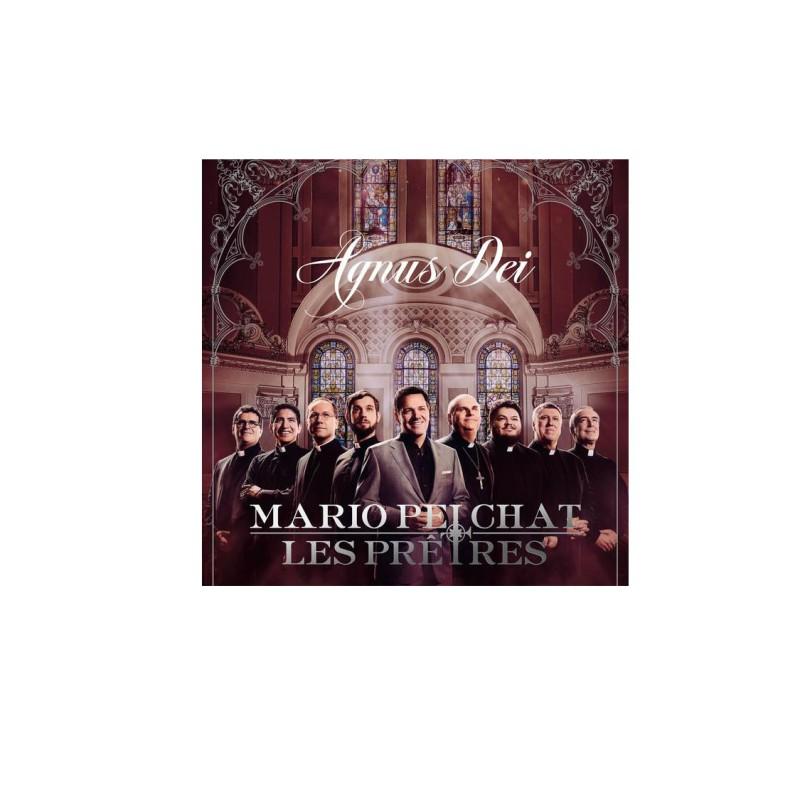 CD - Agnus Dei : Mario Pelchat et les prêtres