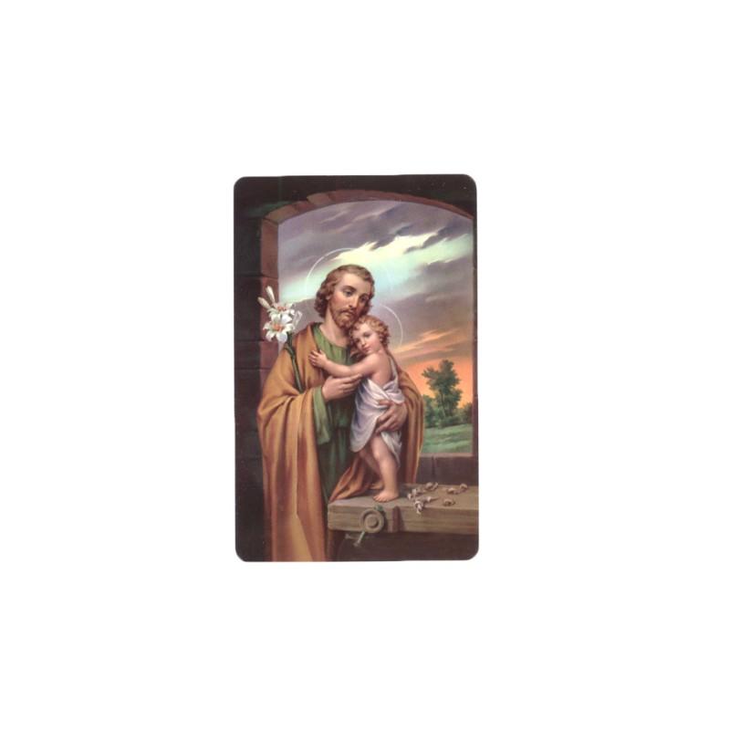 Carte prière saint Joseph