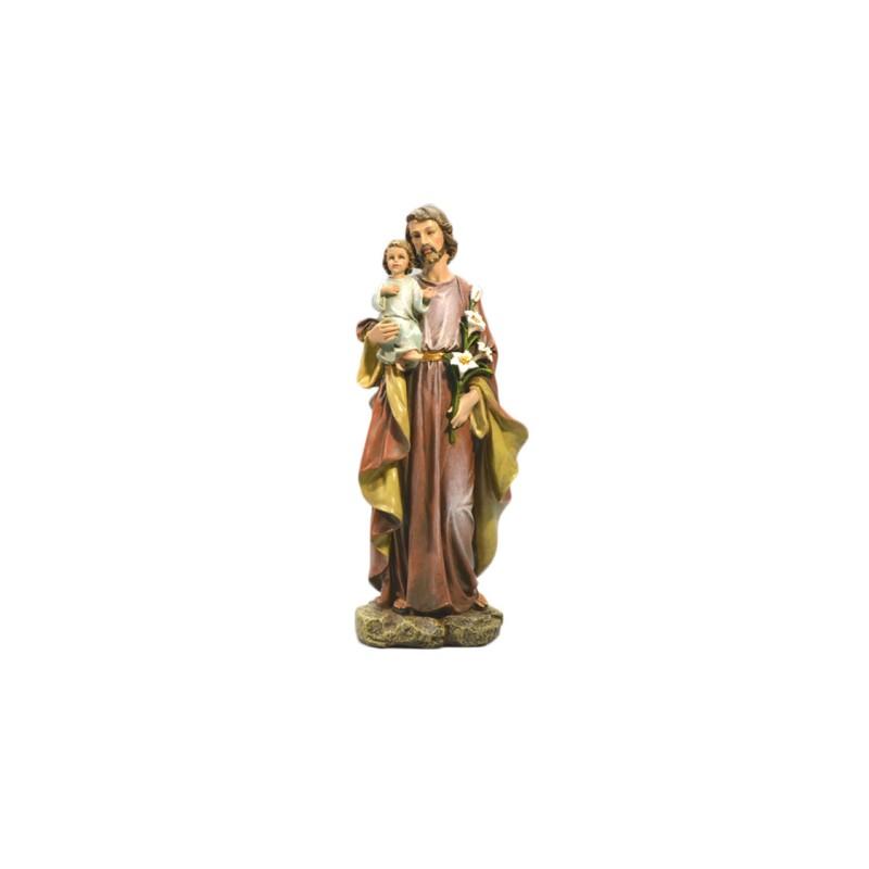 Statue saint Joseph et enfant