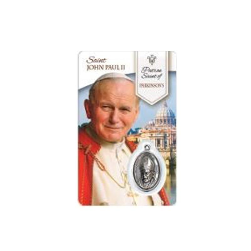 Medal Card Saint John Paul II