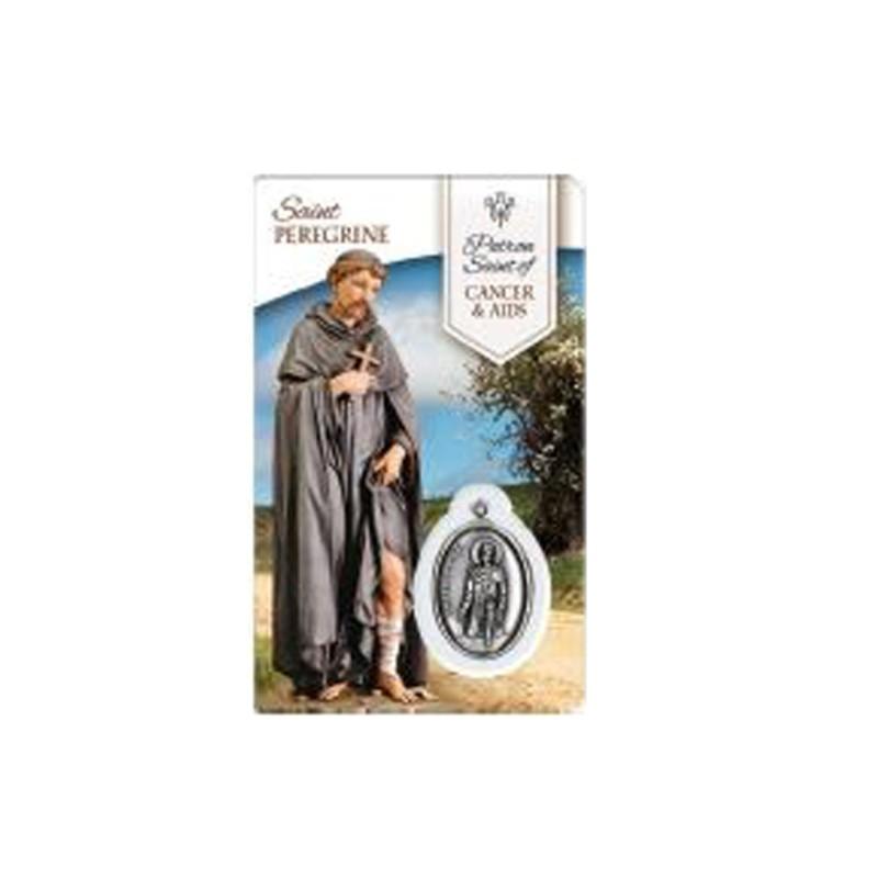Medal Card Saint Peregrine