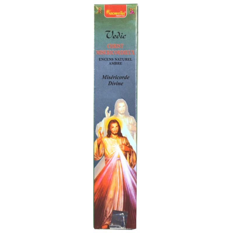 Encens bâtonnets Christ Miséricordieux