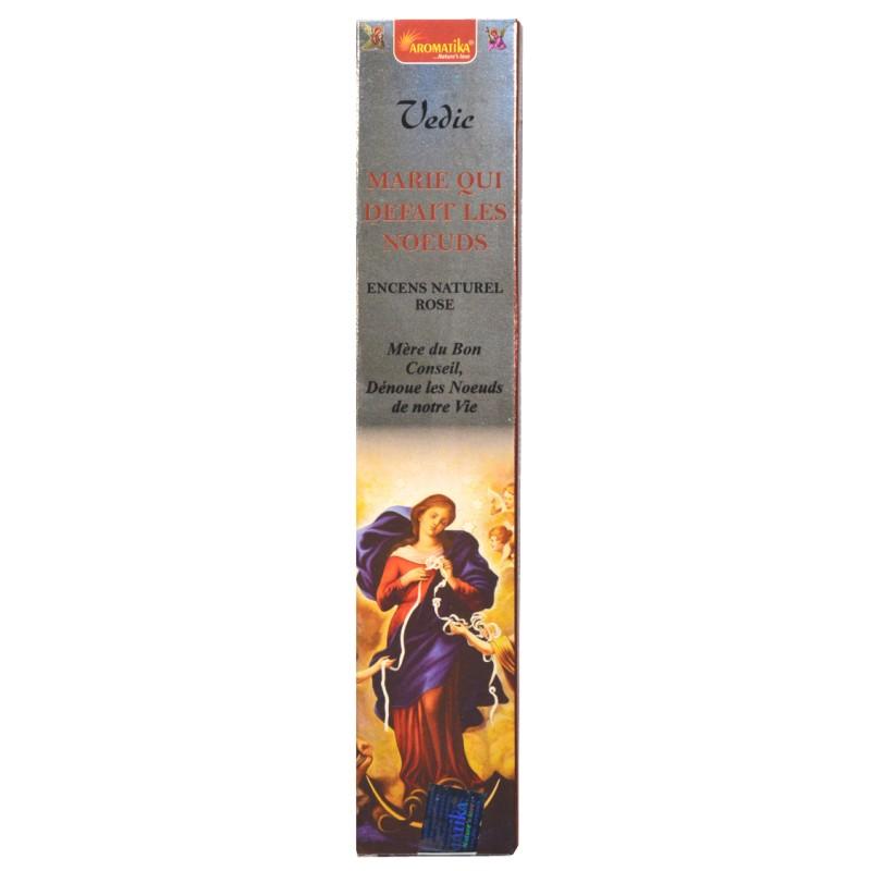 Encens bâtonnets Marie qui défait les noeuds