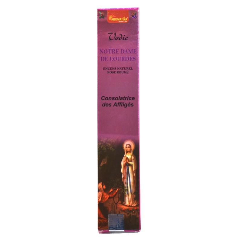 Encens bâtonnets Notre Dame de Lourdes