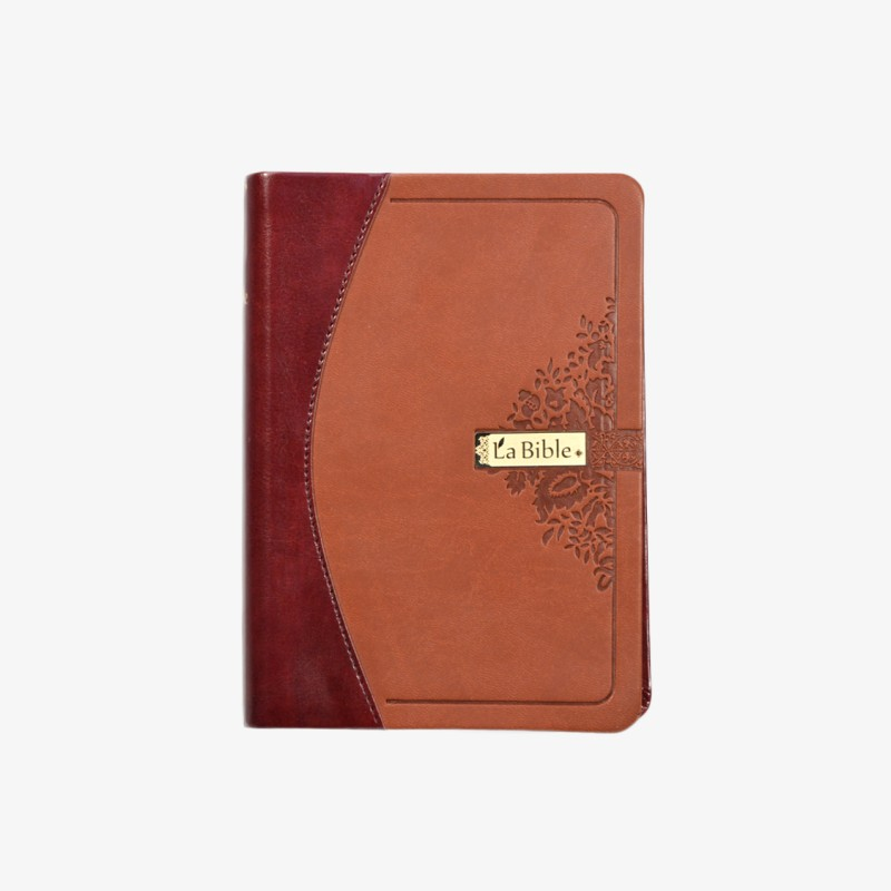 La Bible, format moyen, couverture semi-rigide - Duotone