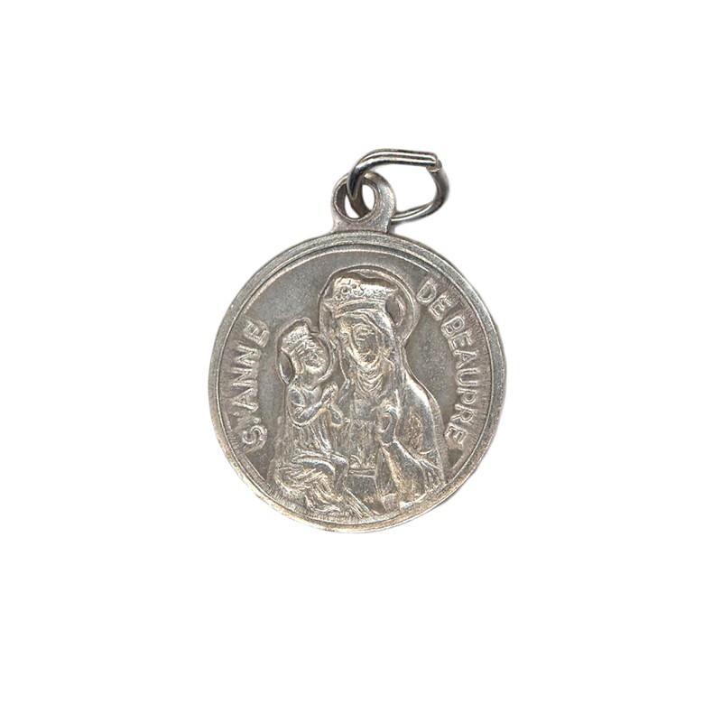 Médaille relique sainte Anne de Beaupré