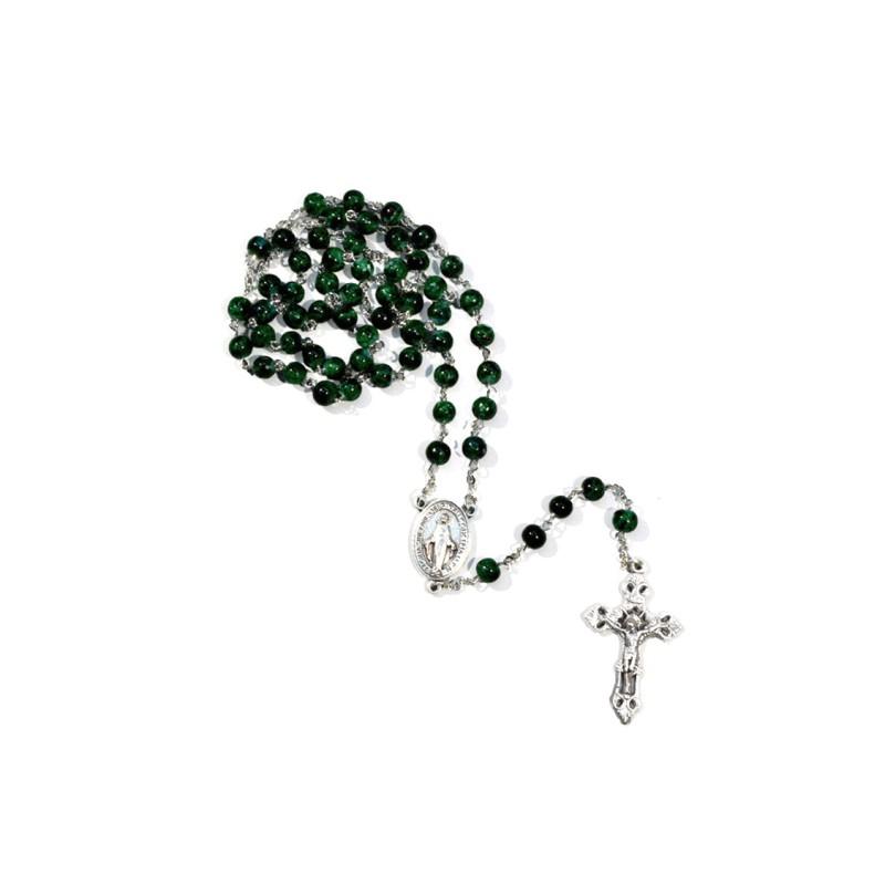 Green rosary ''lume''