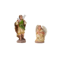 Image Colored resin Nativity
