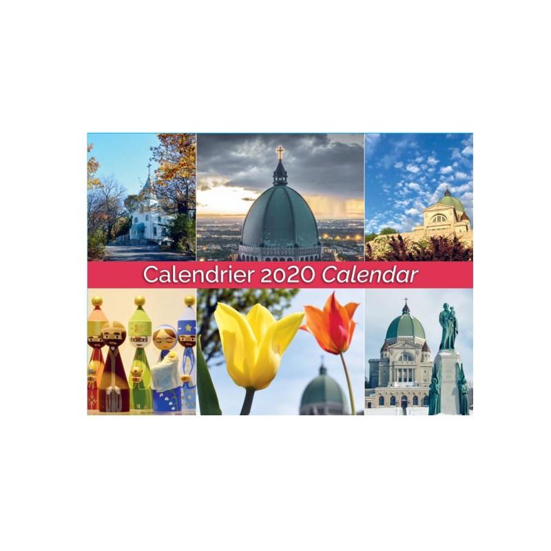 2020 Calendar of the Oratory