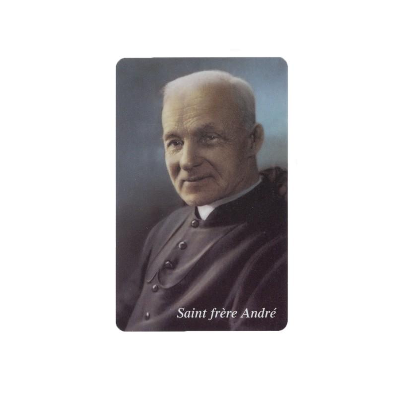 Carte prière saint frère André
