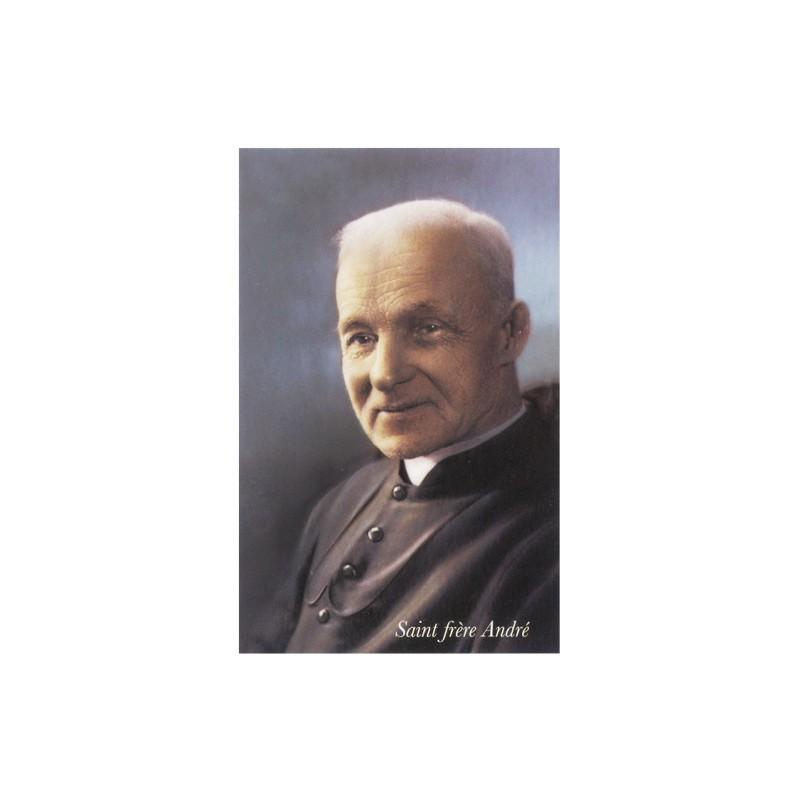 Image/prière saint frère André-paquet de 10