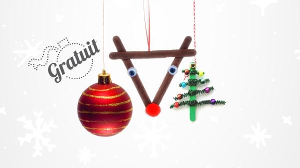 Atelier de décoration de boules et ornements de Noël