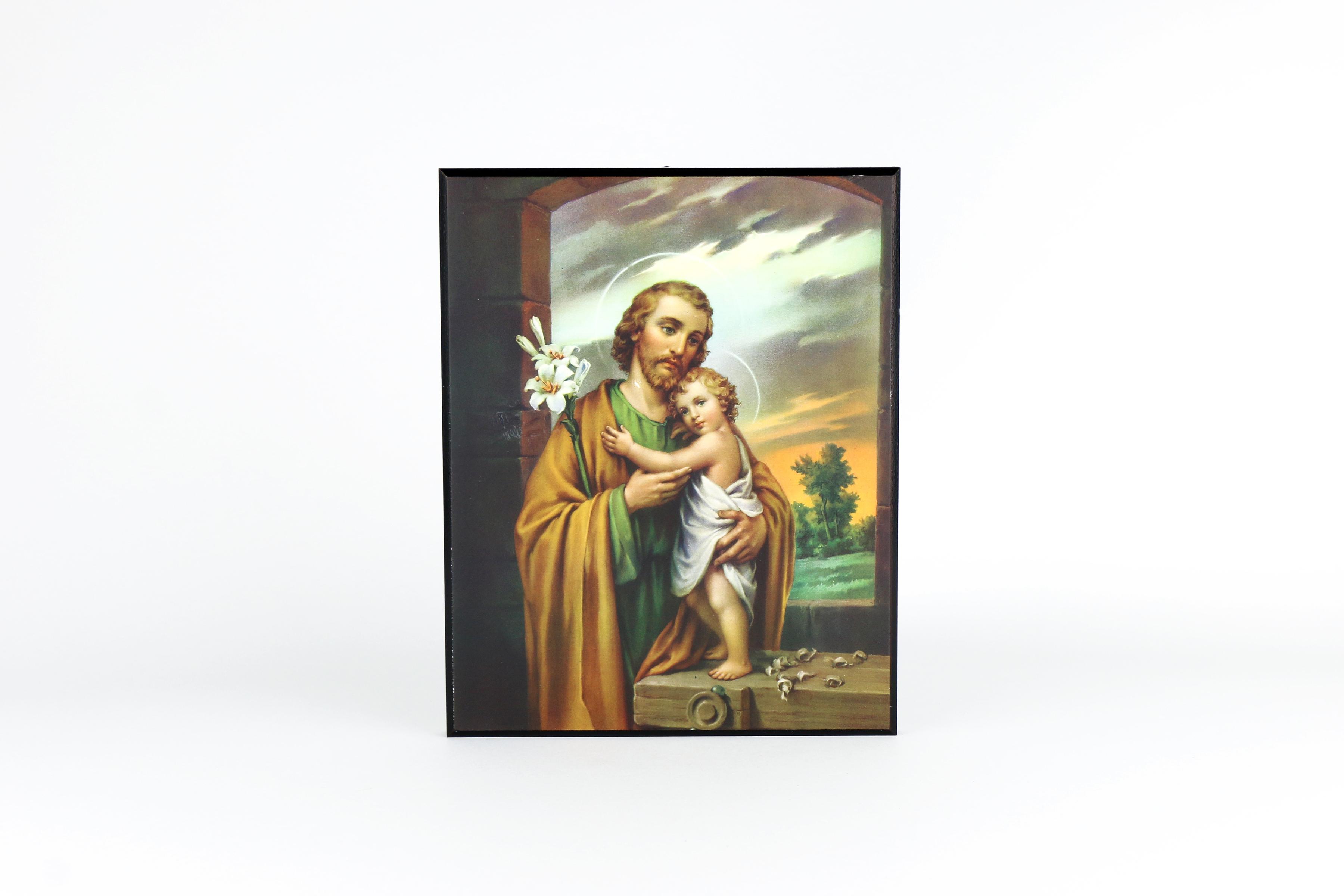 Plaque de saint Joseph / Plaque of Saint Joseph
