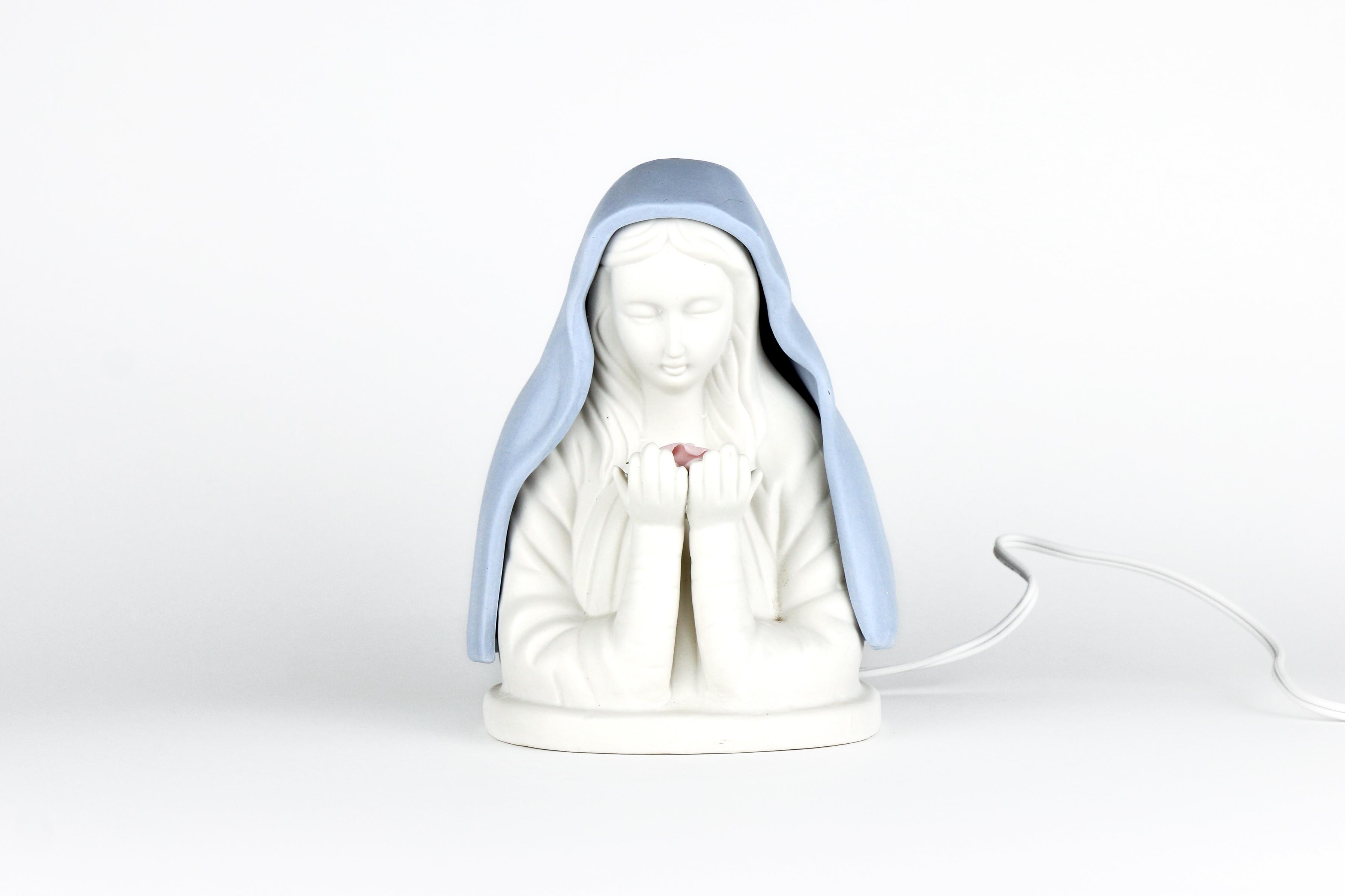 Veilleuse électrique de la Vierge / Night light of the Virgin