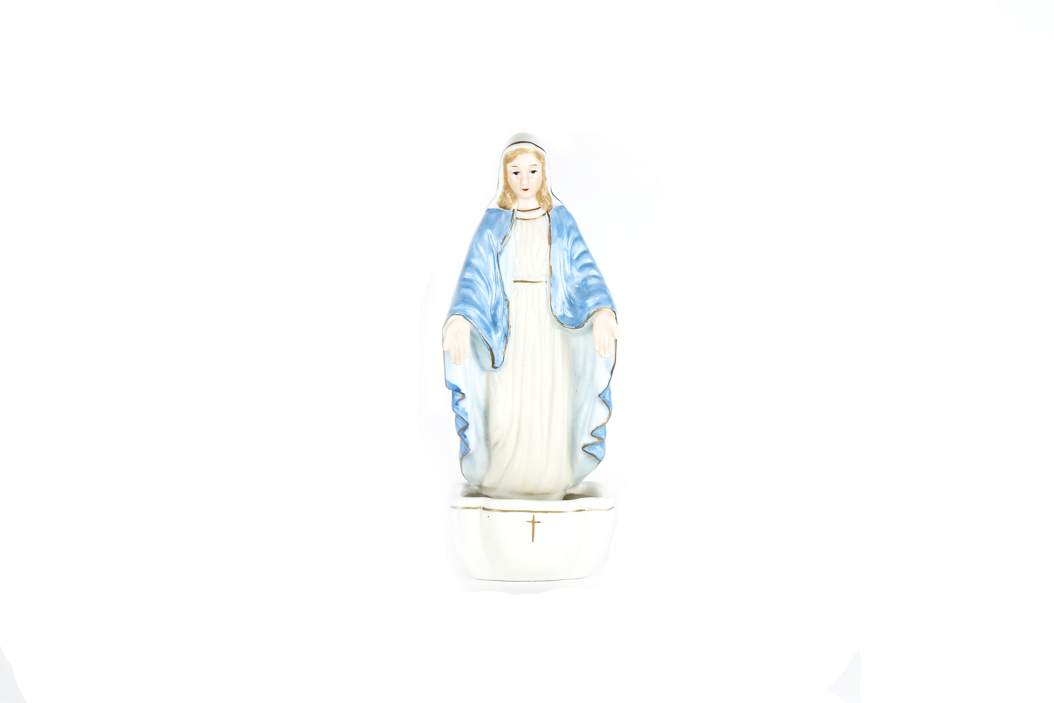 Bénitier de la Miraculeuse / Miraculous Virgin Porcelain stoup
