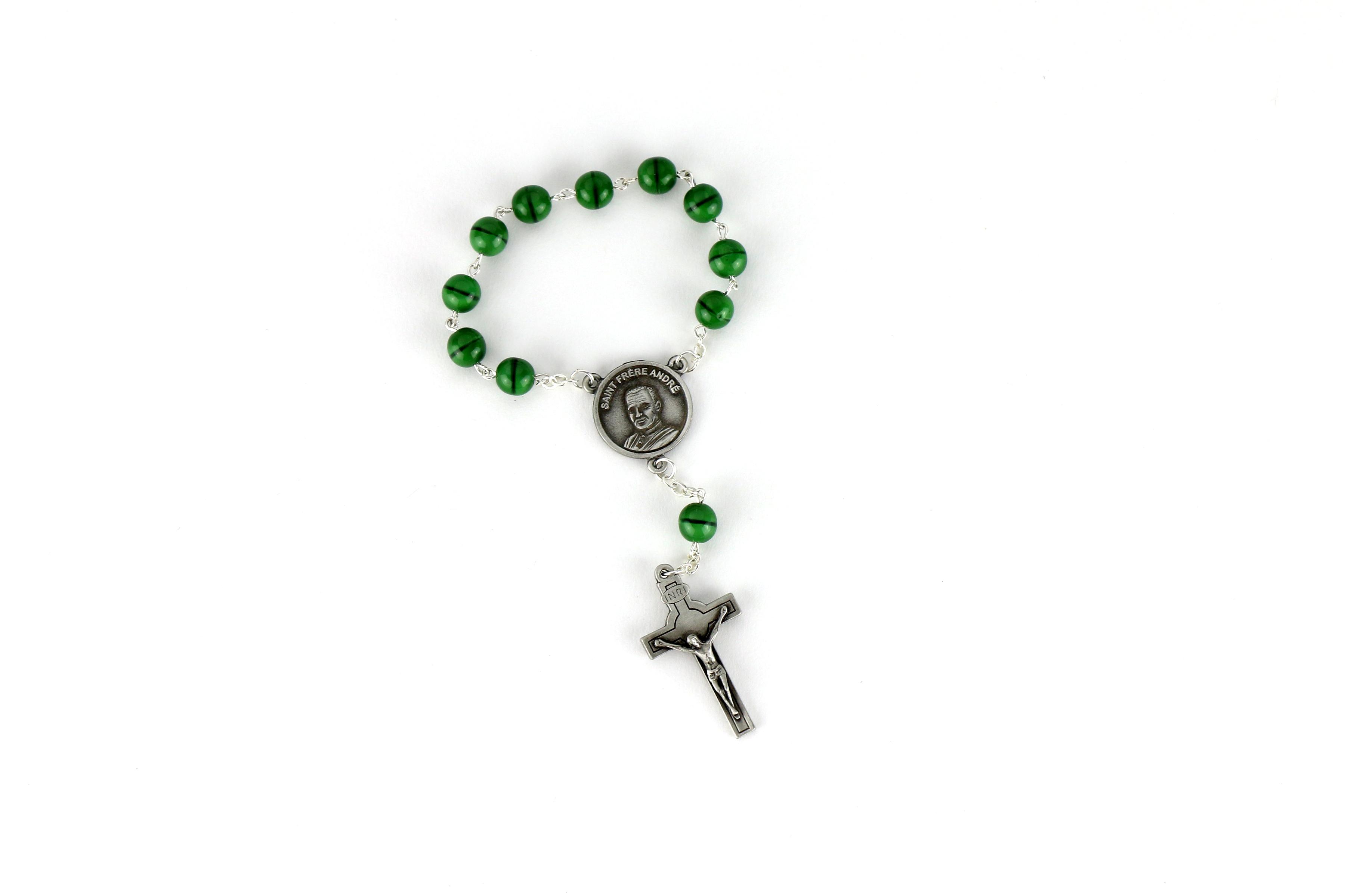 Dizainier de saint frère André / Rosary with relic
