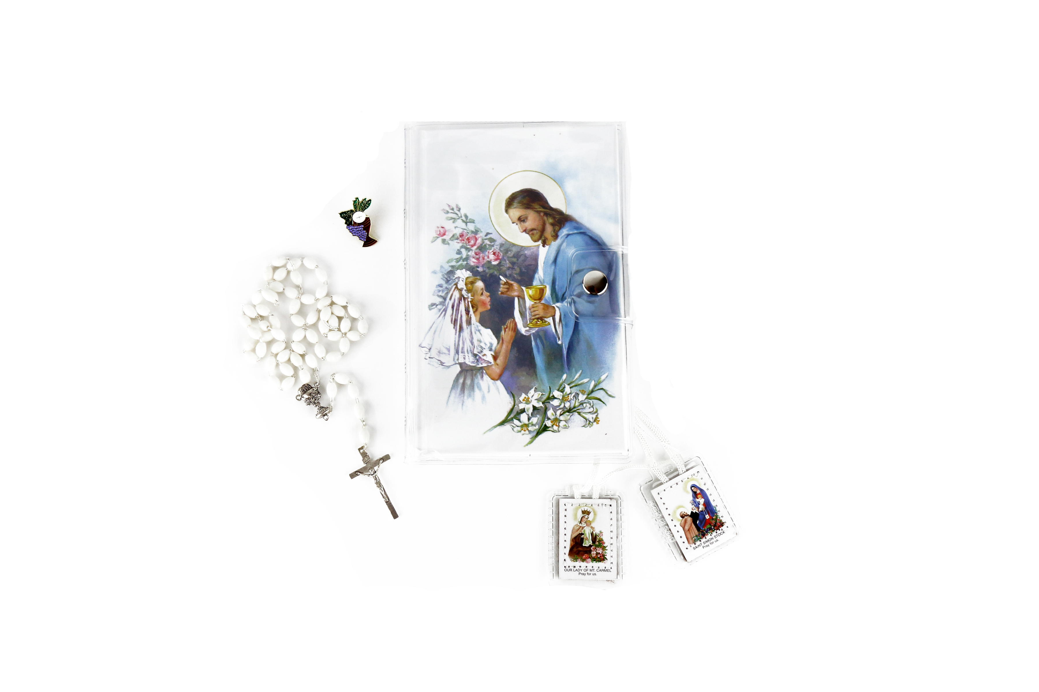 ensemble de première communion / First communion set for girls