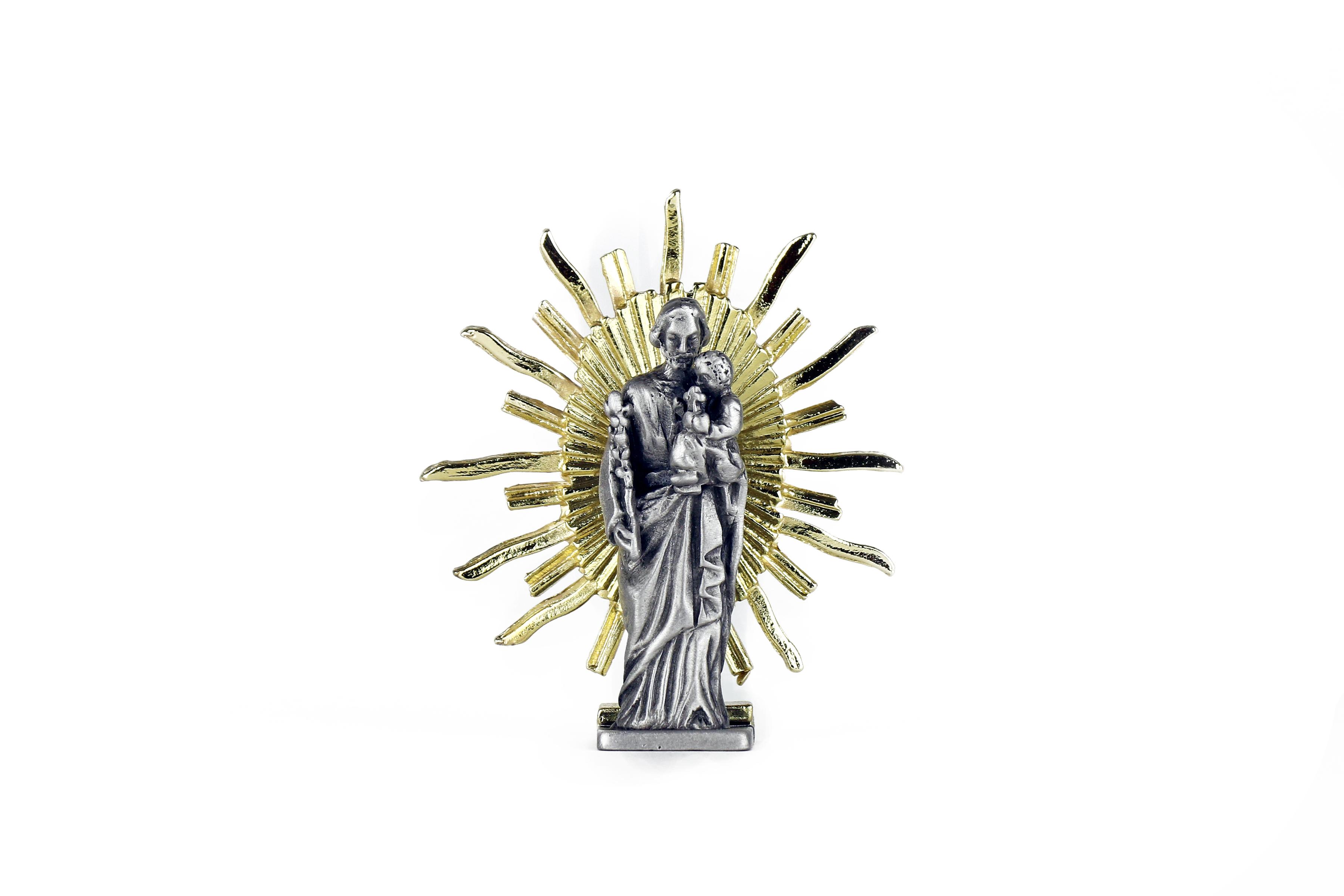 Saint Joseph avec rayons / Saint Joseph of the crypt