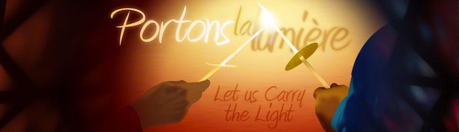 Portons la lumière – thème pastoral 2015