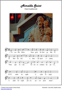 Prier Saint Joseph - Aimable Saint