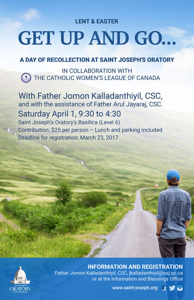 Spiritual enrichment - Easter 2017 recollection
