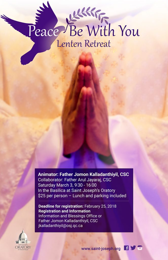 2018 Lent Retreat with Father Jomon Kalladanthiyil
