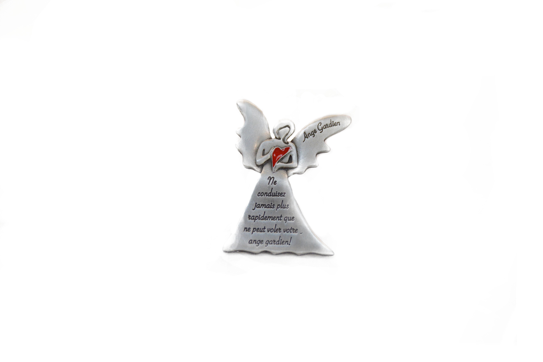 ange gardien pour auto / guardian angel for sun visor