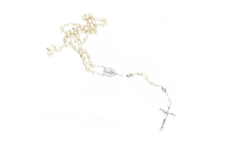 Chapelet fini perle Fatima / Pearl finish Rosary
