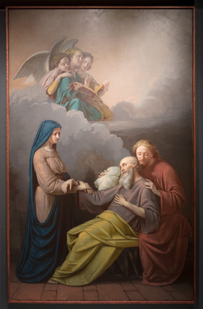 Mort de saint Joseph, Napoléon Bourassa