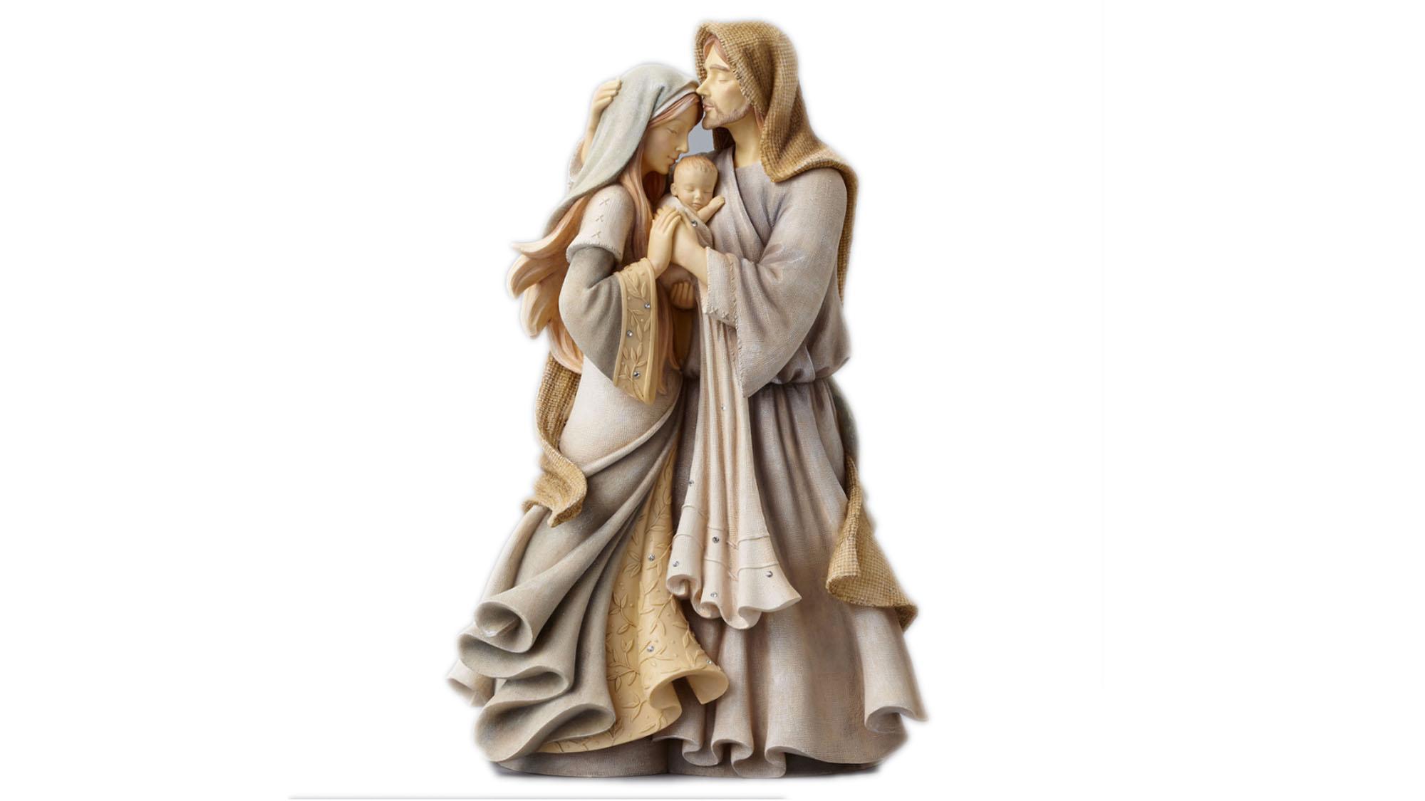 Sainte Famille résine et zircon-ps