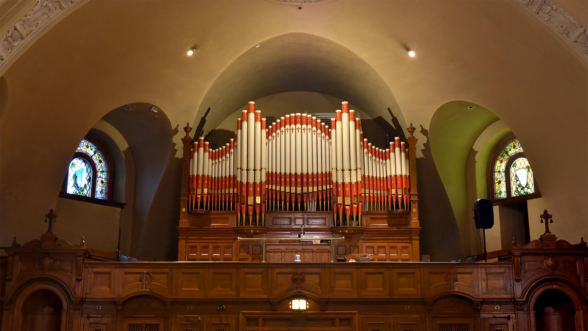 Un orgue centenaire