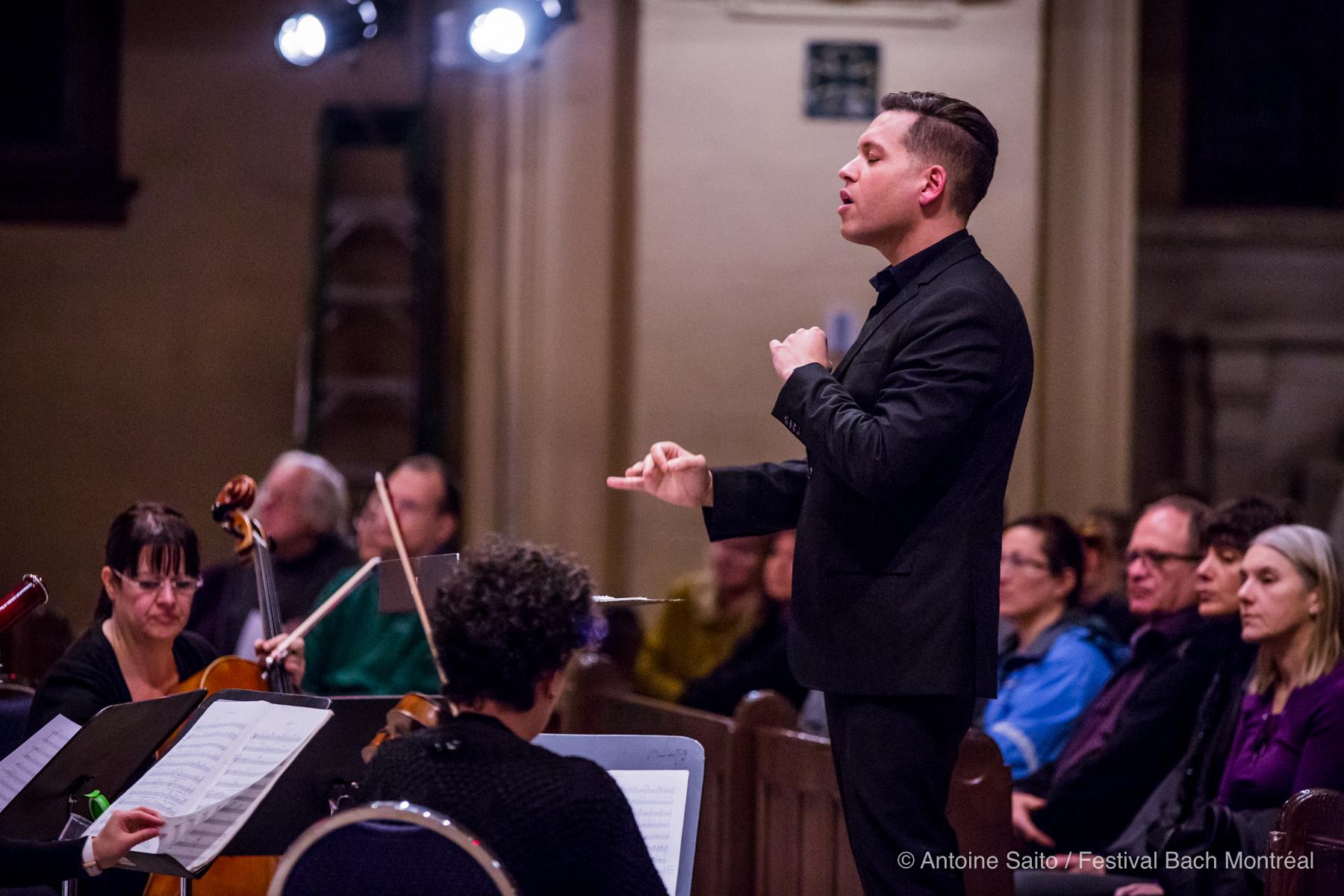 Jean-Sébastien Vallée au concert commémoratif des 100 ans de la crypte, à l'Oratoire Saint-Joseph du Mont-Royal, le 21 nov. 2017