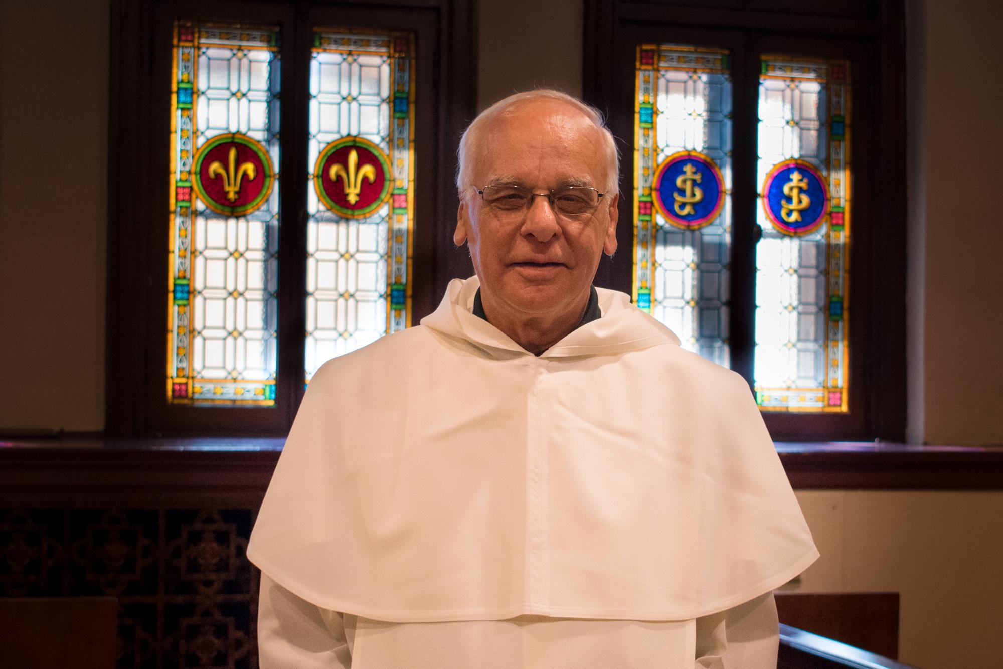 Michel Gourgues, prédicateur de la neuvaine à saint Joseph 2018 à l'Oratoire Saint-Joseph