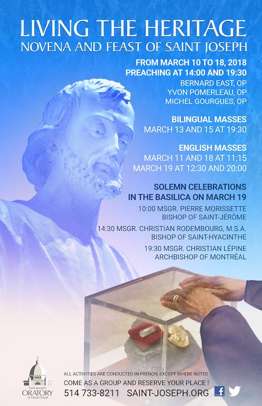 Poster - 2018 Novena to Saint Joseph