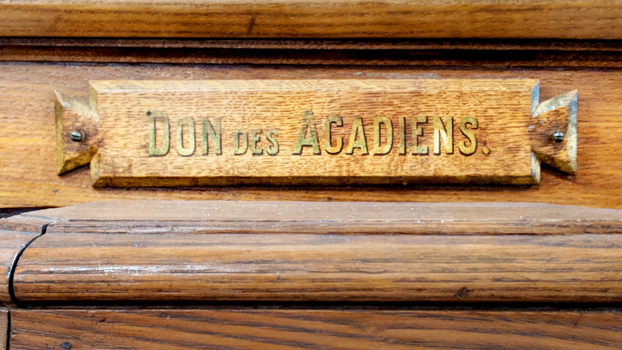 Un peu d'Acadie à l'Oratoire
