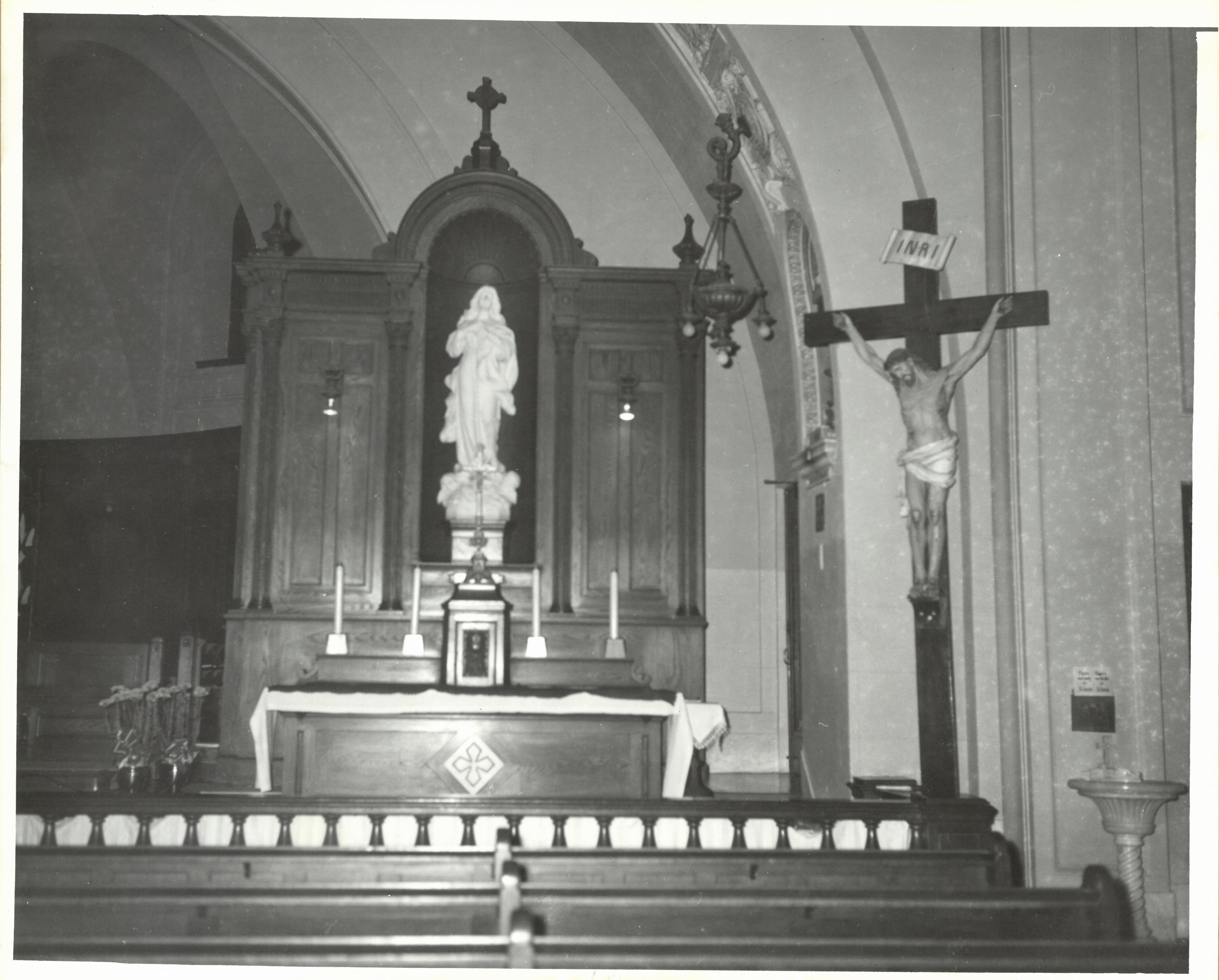 Acadie Vierge Marie